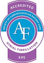 Accredited Atrial Fibrillation Treatment Center logo
