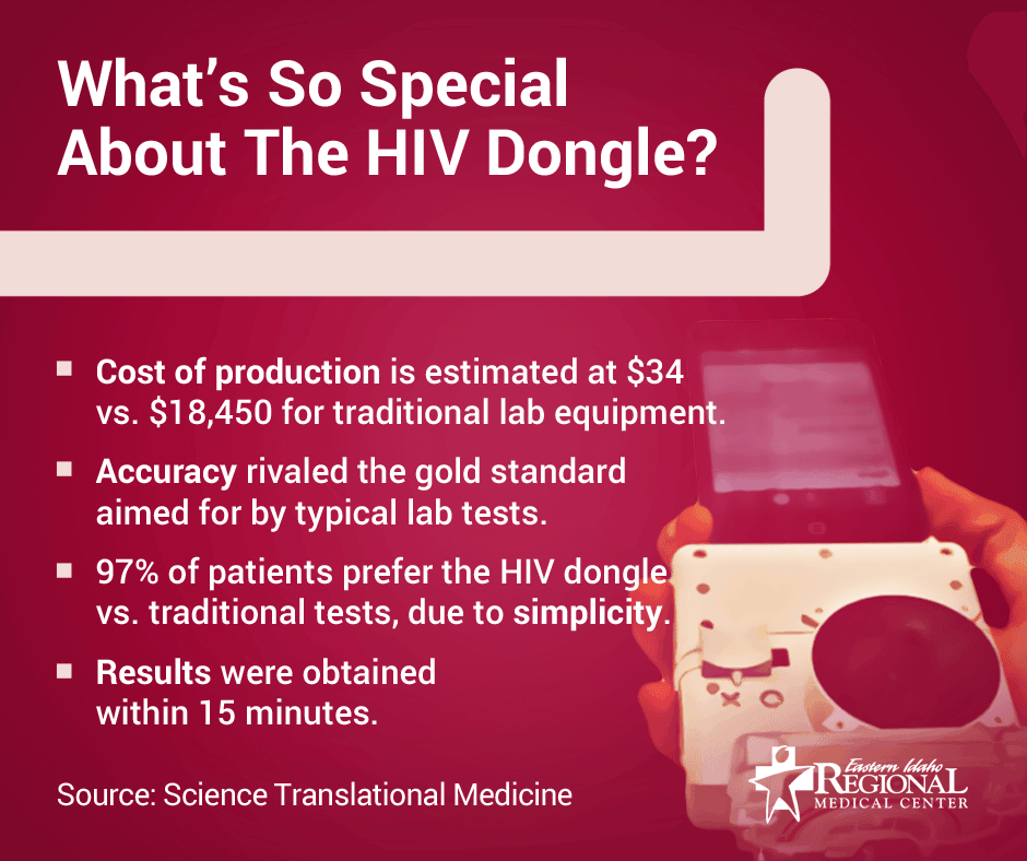 What's so special about the HIV Dongle