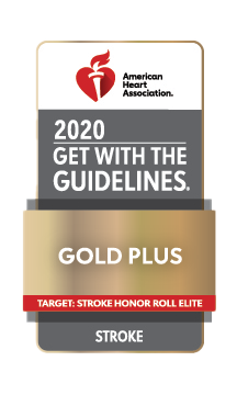 American Heart Association - Get with the guidelines - Gold Plus Stroke Award
